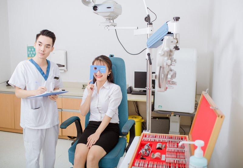 Khoa mắt bệnh viện đa khoa quốc tế Vinmec
