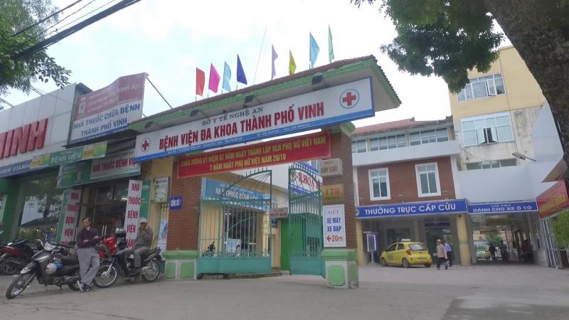 Khoa mắt - Bệnh viện đa khoa TP. Vinh
