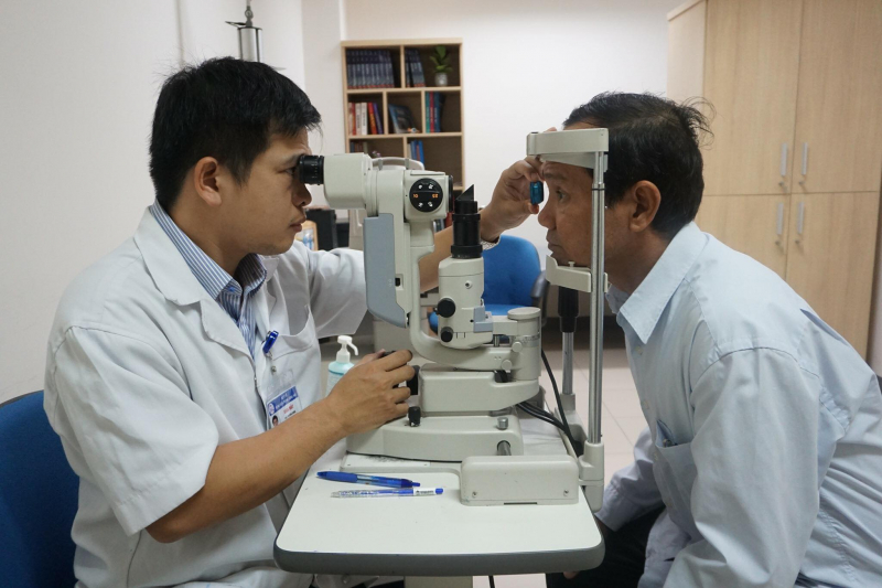 Khoa Mắt – Bệnh viện Trung ương