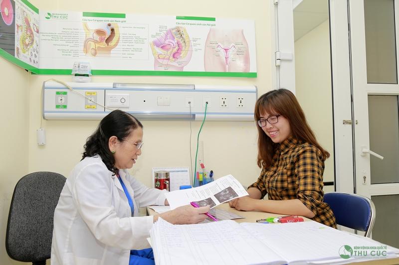 Phòng khám và tư vấn điều trị bệnh phụ khoa tại Bệnh viện ĐKQT Thu Cúc