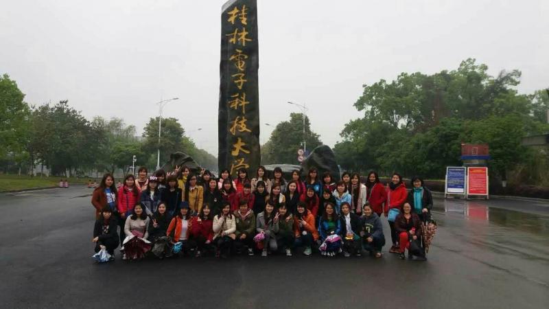 Sinh viên khoa tiếng Trung Quốc