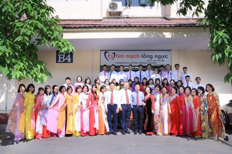 Khoa tim mạch lồng ngực - Bệnh viện Việt Đức