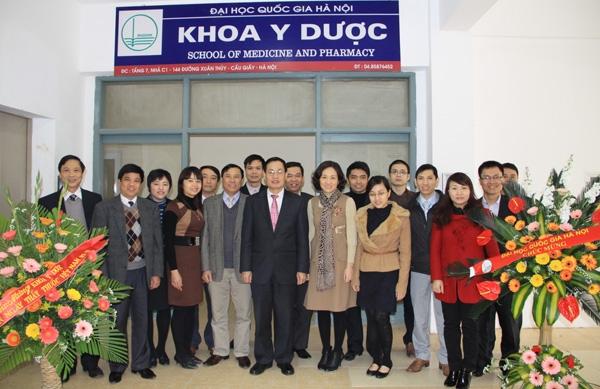 Khoa y dược Đại học quốc gia Hà Nội