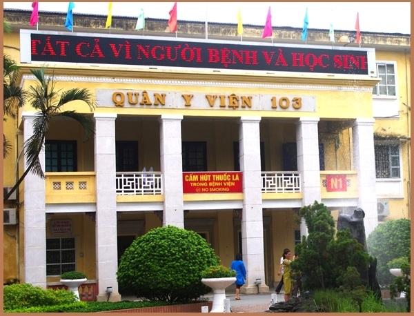 Bệnh viện Học viện Quân Y 103