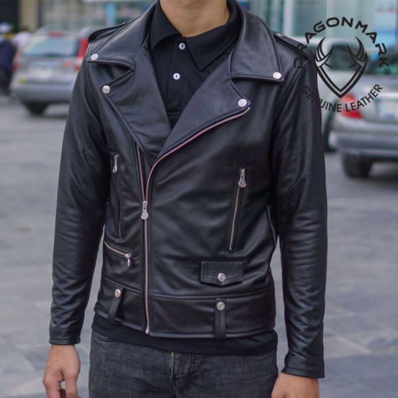 Khoác da Biker jacket