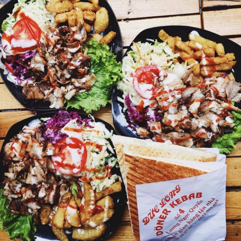 Khoai tây Kebab