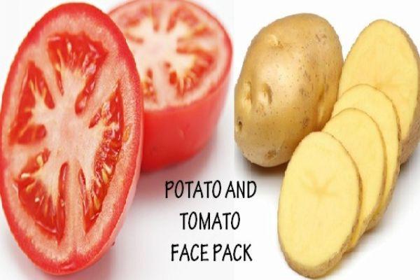 Khoai tây và cà chua trị thâm nách hiệu quả