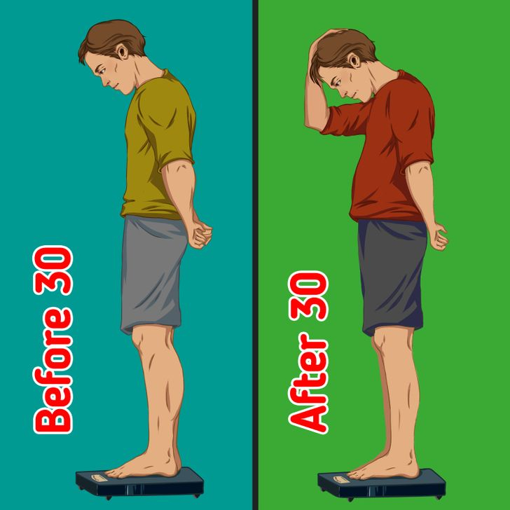 Khối lượng cơ giảm đi