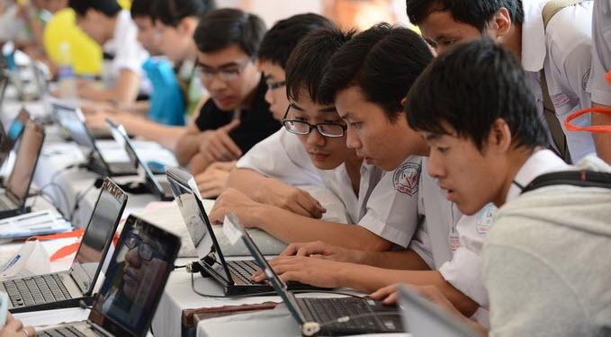 CNTT vẫn đang là ưu tiên số 1 của các bạn thí sinh trong khối ngành kỹ thuật