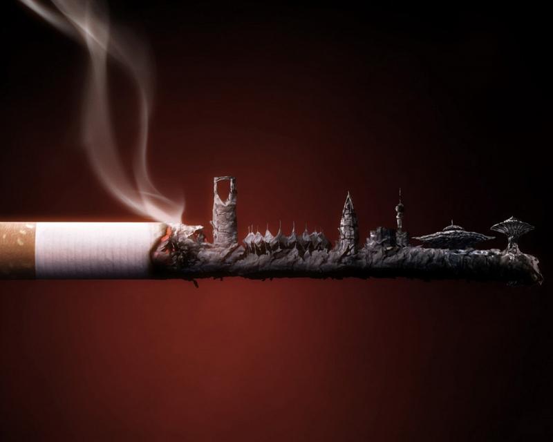 Hít phải khói thuốc lá