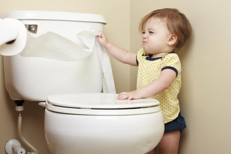 Không biết dùng nhà... vệ sinh
