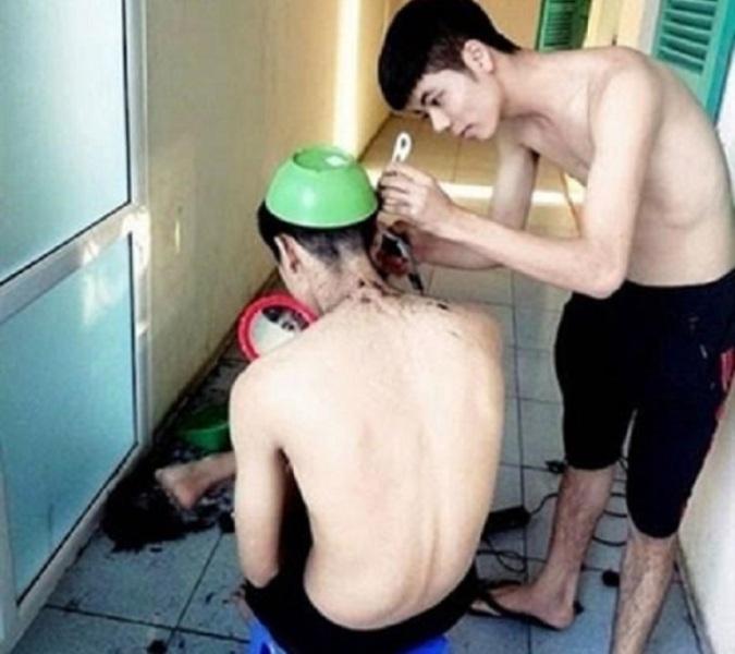 Không cần đi đâu xa với dịch vụ cắt tóc tại nhà như thế này, và hầu như còn được thử nghiệm miễn phí