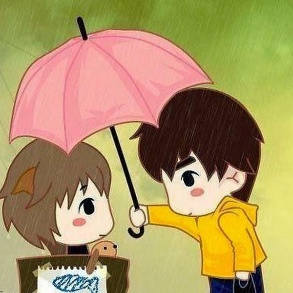 Không che dù (ô che mưa) khi đi ngoài trời mưa