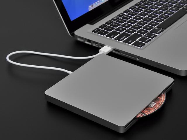 Không có ổ quang Apple USB SuperDrive