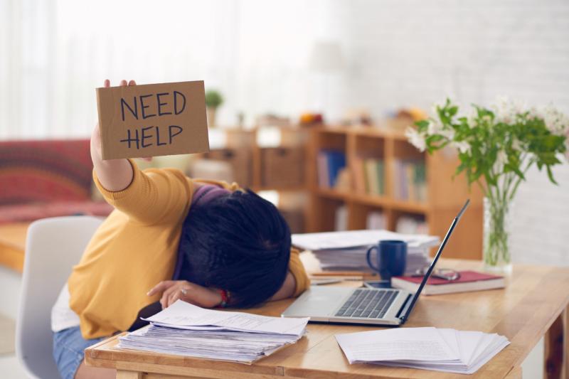 Không nên cố học khi đã quá mệt