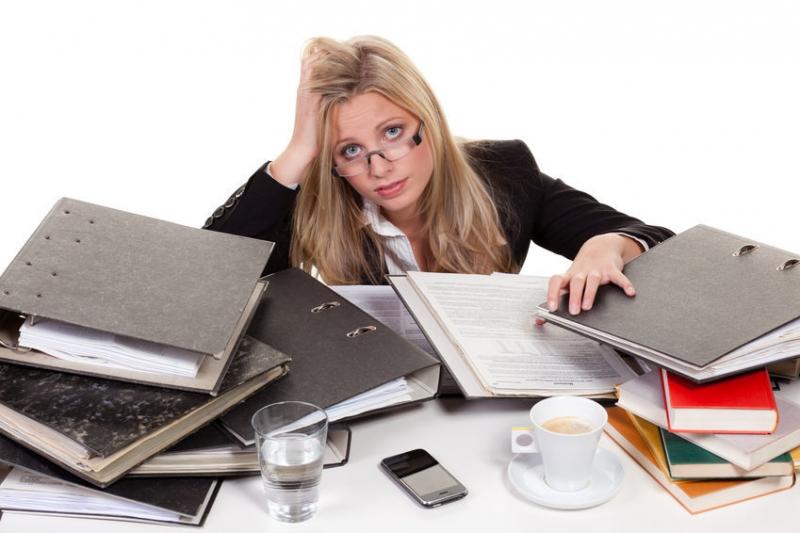 Thường xuyên bị stress và áp lực trong công việc