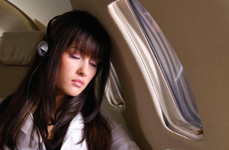 Một giấc ngủ khi đi xe là phương pháp tốt chống say xe
