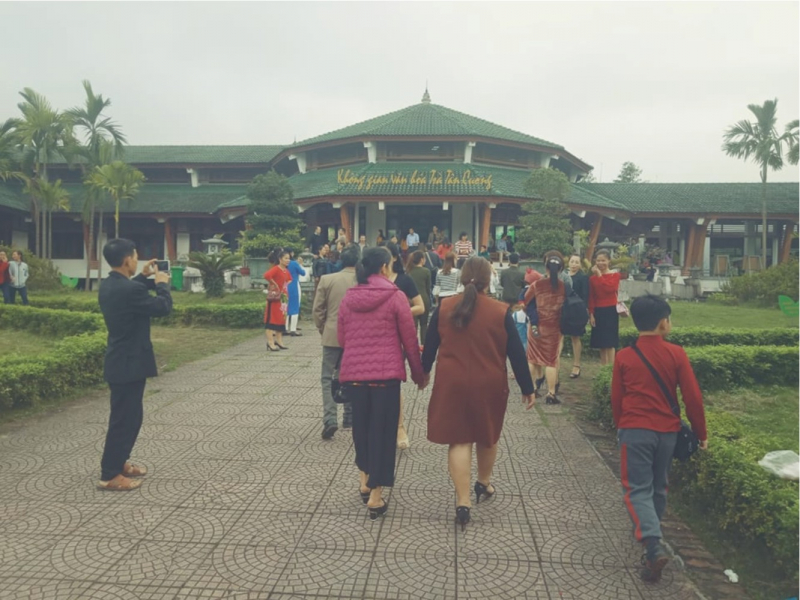 Không gian văn hóa trà Tân Cương