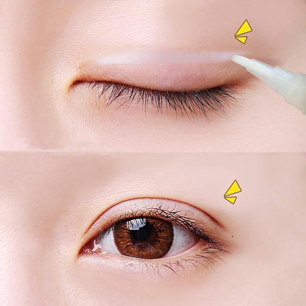 Không kẻ eyeliner