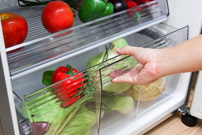 Nên làm sạch rau sống trước khi cho vào tủ lạnh