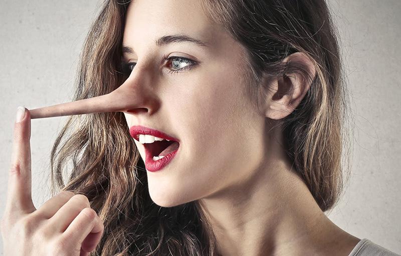 Không nên nói những lời dối trá