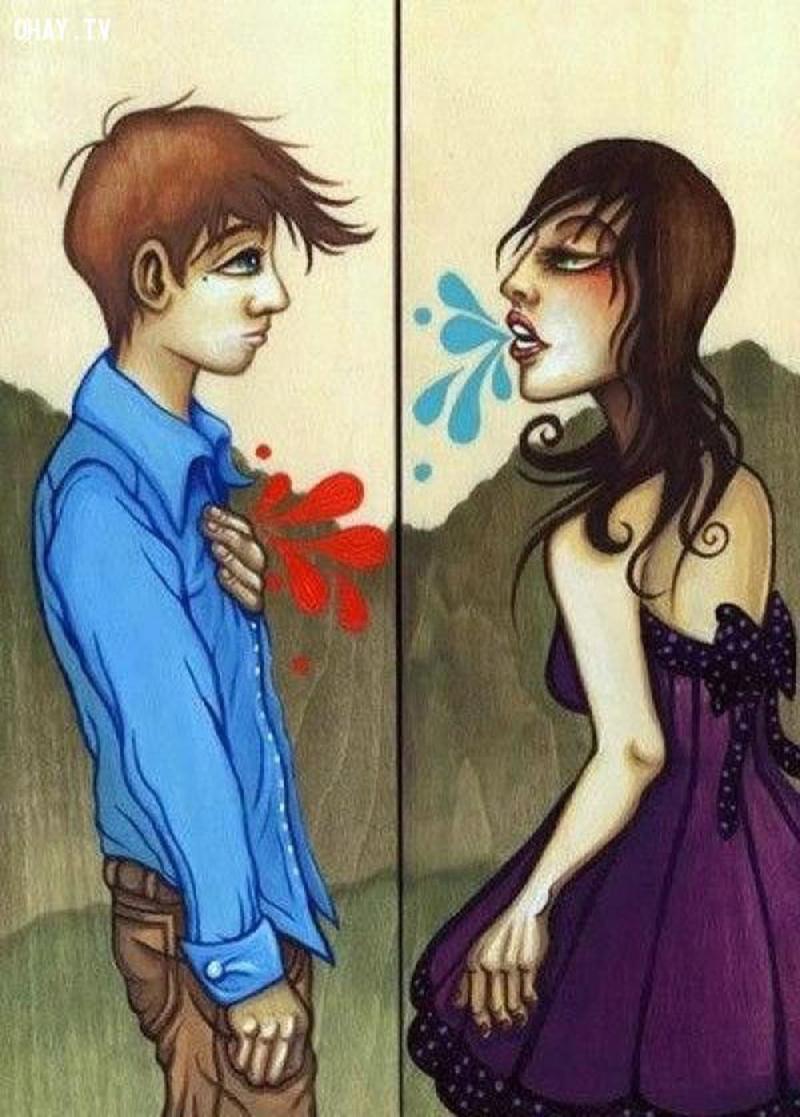 Không nên nói những lời tổn hại người khác