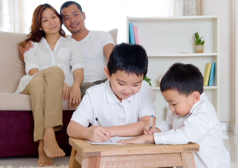 Nếu các con luôn được nhắc nhở thì sẽ nảy sinh tình trạng, mẹ nhắc thì con mới đi học