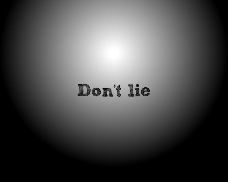 Không nói dối
