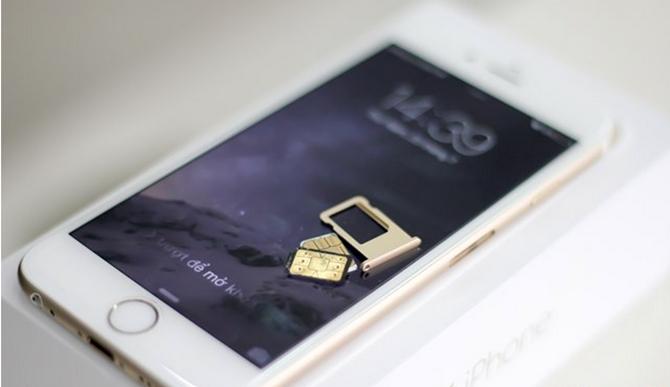 iPhone lock phải dùng kèm sim ghép để nhận mạng