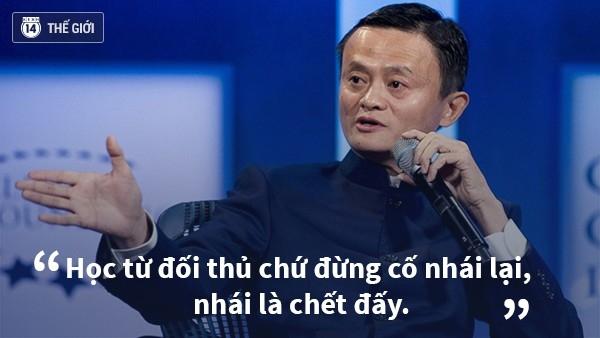 Jack Ma luôn quan niệm không tạo ra kẻ thù trong kinh doanh.