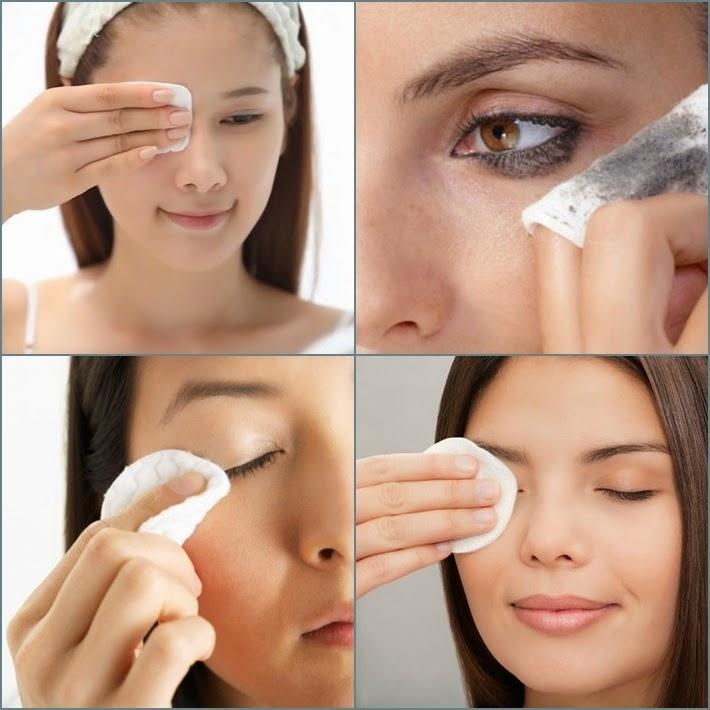 Bạn nên dùng tẩy trang chuyên dụng và tẩy trang sạch mỗi ngày