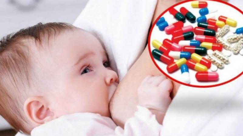 Gặp bác sỹ và nói cho họ biết để họ cho bạn thuốc phù hợp và ko ảnh hưởng j đến sữa.