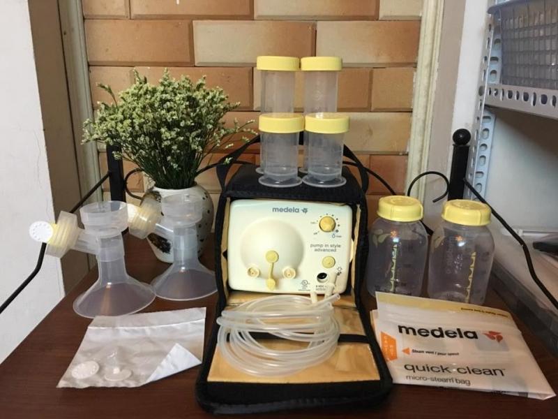 Máy hút sữa Medela pump- Dòng máy rất ưa chuộng tại Việt Nam