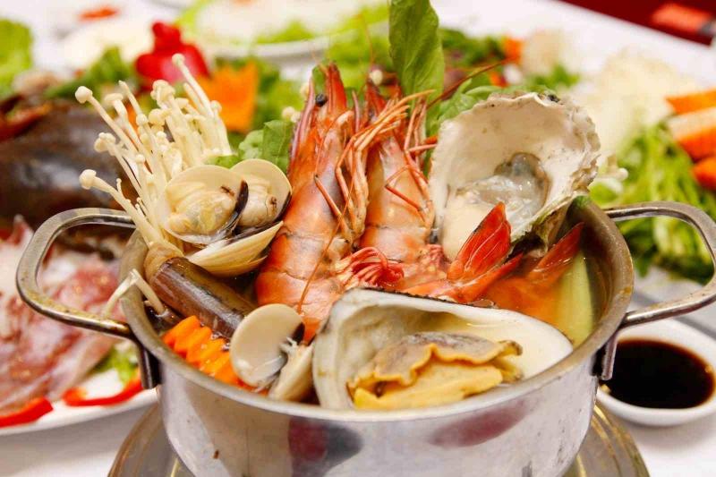 Lẫu hải sản _ hải sản Quy Nhơn