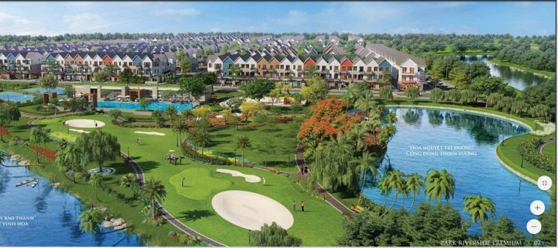 Khu biệt thự Park Riverside Premium