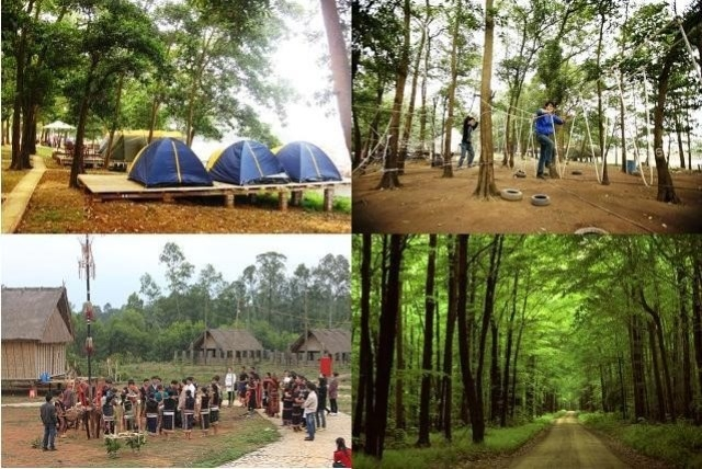 Khu cắm trại Sơn Tinh Camp, Hà Nội