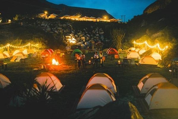 Khu cắm trại Trung Lương