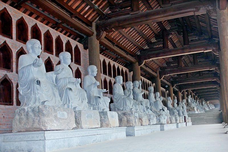 Khu chùa có nhiều tượng La Hán nhất Việt Nam