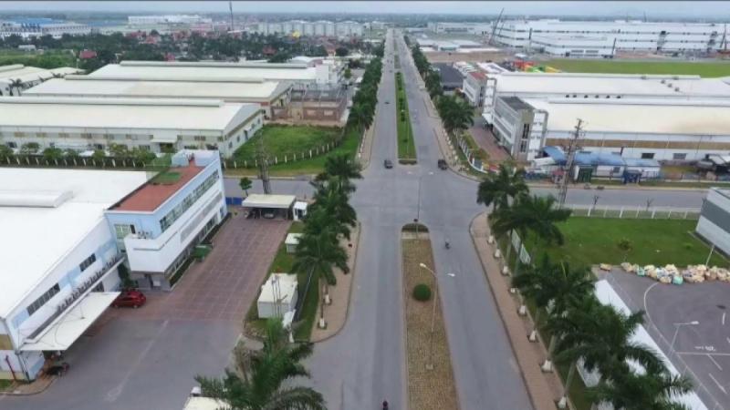 Khu công nghiệp - đô thị Tràng Cát