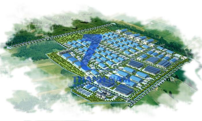 Phối cảnh tổng thể khu công nghiệp Đồng Văn 2