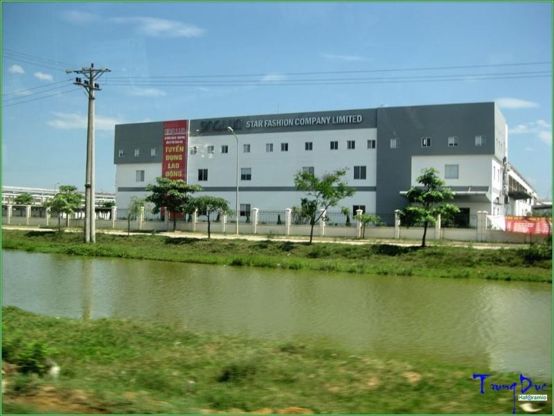 Một công ty nằm trong khu công nghiệp Phú Nghĩa