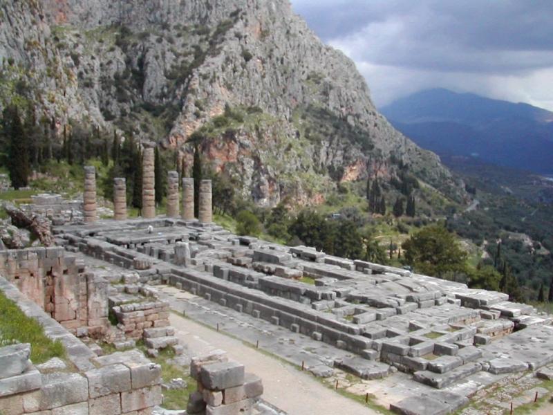 Khu di tích cổ Delphi