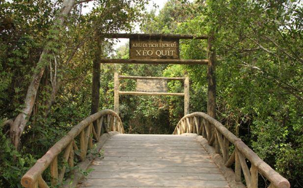 Khu di tích lịch sử sinh thái rừng Tràm - Xẻo Quýt