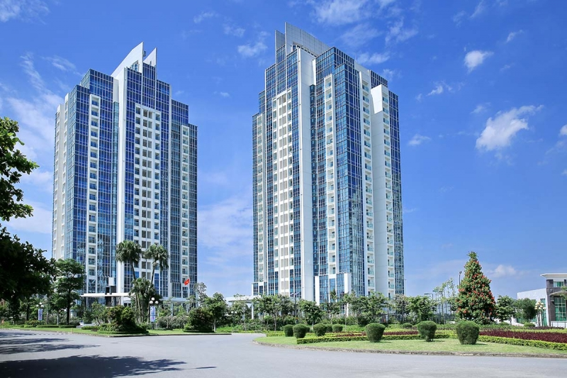 With international standard services, Ciputra urban area is considered a high-quality urban area in Hanoi area.
