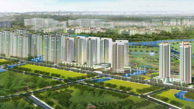Dragon City urban area (HCMC)