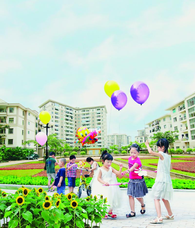 Tiện ích dành cho cư dân nhí của khu đô thị mới Việt Hưng