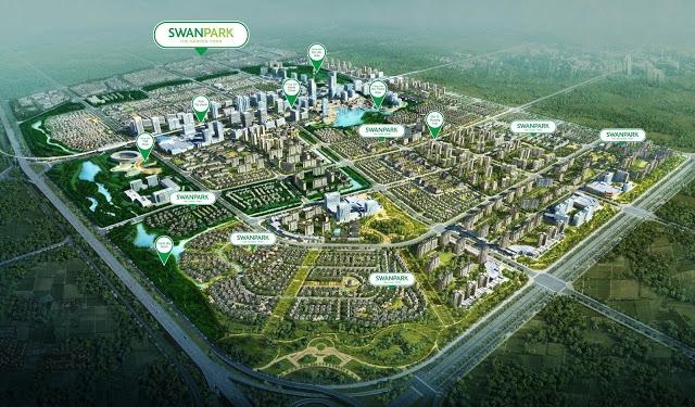 Toàn cảnh dự án Khu đô thị SwanPark Đông Sài Gòn