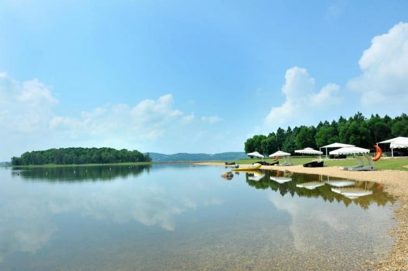 Một góc sinh thái Hồ Đại Lải
