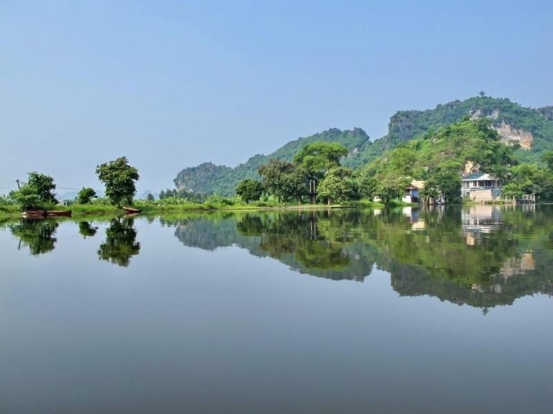 Hồ Quan Sơn - Vịnh Hạ Long trên cạn của đất kinh kỳ Hà Nội