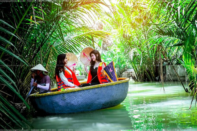 Khu du lịch sinh thái rừng dừa Hội An
